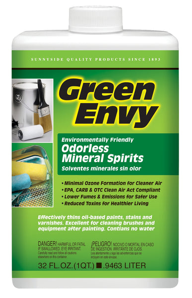 Green Envy 30632 Odorless Mineral Spirits, 1 Qt