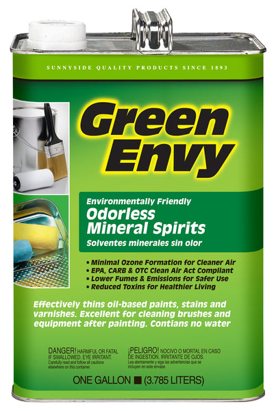 Green Envy 306G1 Odorless Mineral Spirits, 1 Gallon