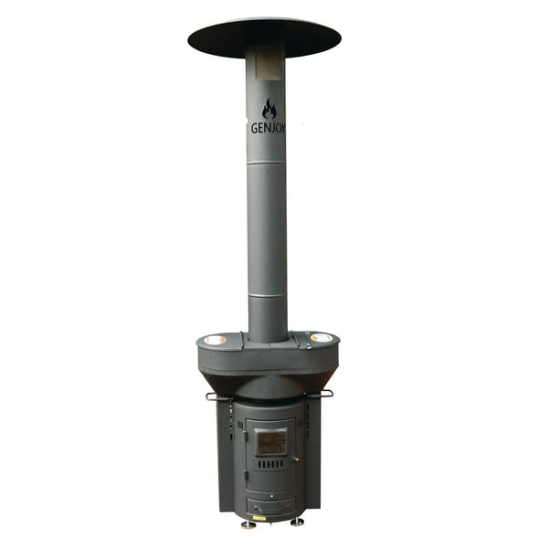 QStove Q05 Q-Flame Wood Pellet Outdoor Patio Heater, 106,000 BTU
