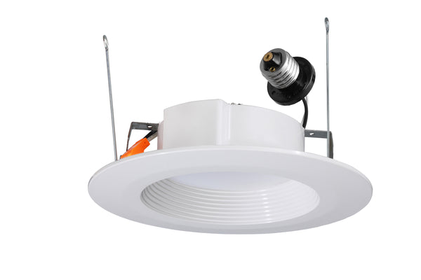 "ETI 53193141 Dimmable LED Recessed Can Retrofit Kit, White, 11W, 5""/6"""