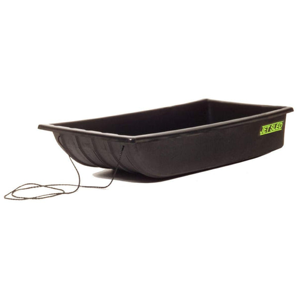 Eagle Claw Shappell JS1 Multi-Purpose Rugged Poly Jet Sled 1, Black, 54""
