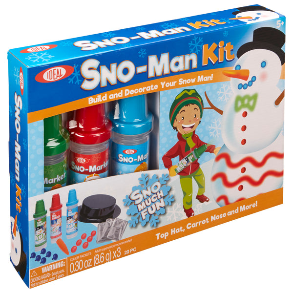 Ideal 0C8326BL Sno Toys Sno Marker Sno Man Kit