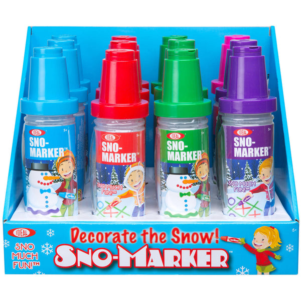 Ideal 0C8321TL Sno Markers, Assorted Colors
