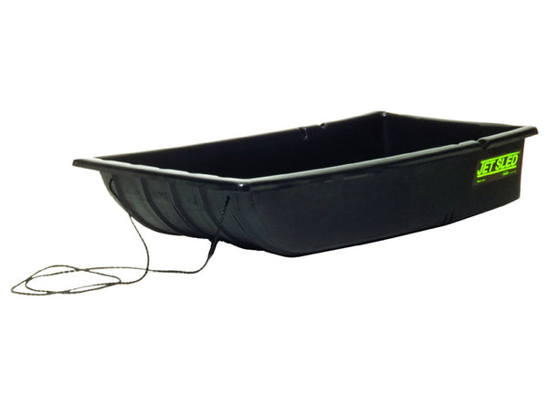 Eagle Claw Shappell JSR Multi-Purpose Rugged Poly Jet Sled Jr., Black, 42""