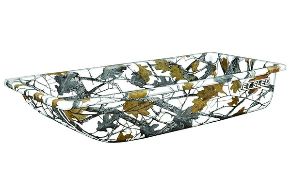 Eagle Claw Shappell JS1-WC Multi-Purpose Poly Jet Sled 1, Winter Camo, 54""