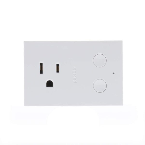 Legrand WWP20 Radiant Smart Wi-Fi Enabled Plug-In Dimmer, White