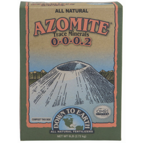 Down To Earth 07851 All Natural Azomite Trace Minerals, 0-0-0.2, 5 Lb