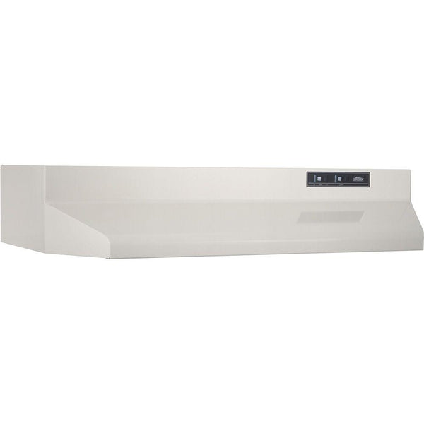 Broan 402402 Ducted Under Cabinet Range Hood with Light, Bisque, 160 CFM, 24""