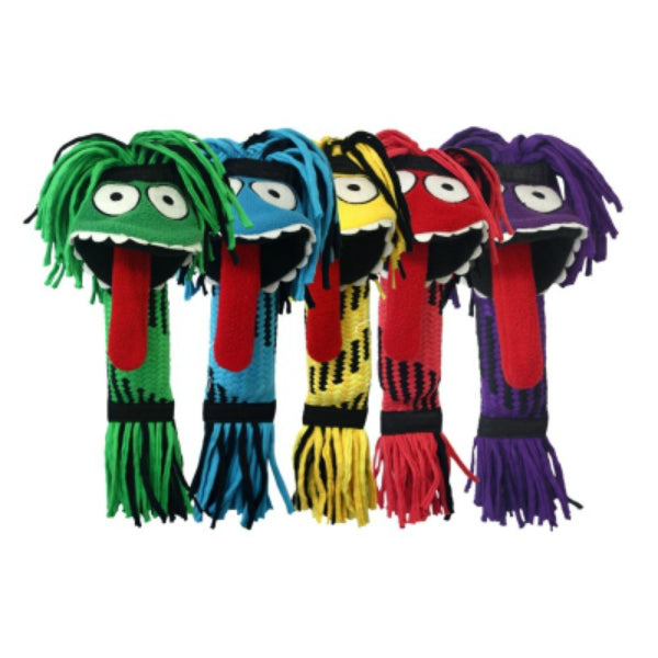 Multipet 29660 Silly Rope Monsters Toy for Dog, Assorted Colors, 13""