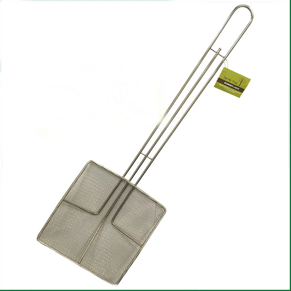 Tap My Trees TMT90029 Skimmer Ladle with Hanger Loop, Stainless Steel