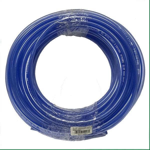 "CDL 6600130801 Semi Rigid Food Grade Tubing, 5/16"", 100' Roll"