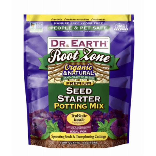 Dr. Earth 823 Root Zone Organic & Natural Starter Fertilizer, 8 Qt