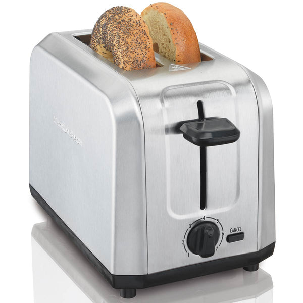 Hamilton Beach 22910 Brushed Stainless Steel Toaster, 2-Slice