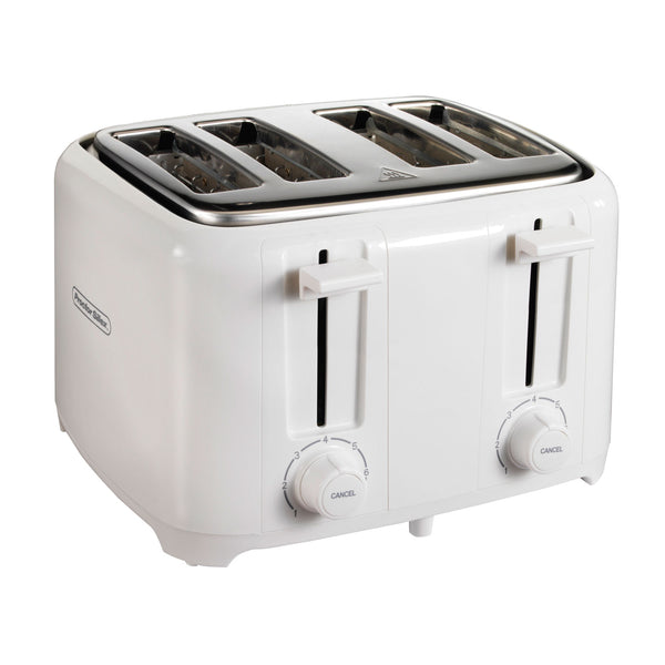 Proctor Silex 24216 4-Slice Durable Toaster, White
