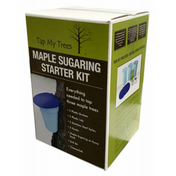 Tap My Trees TMT02039 Maple Sugaring Starter Kit with Plastic Bucket
