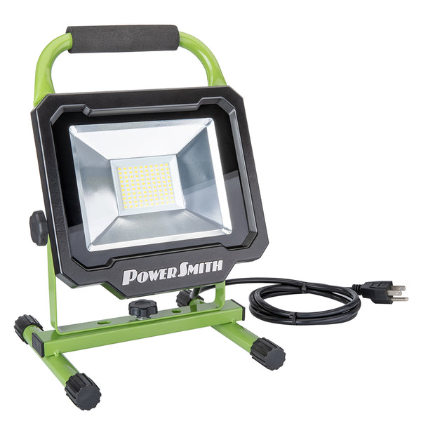 PowerSmith PWL150S LED Work Light with Metal Base, 5000 Lumens