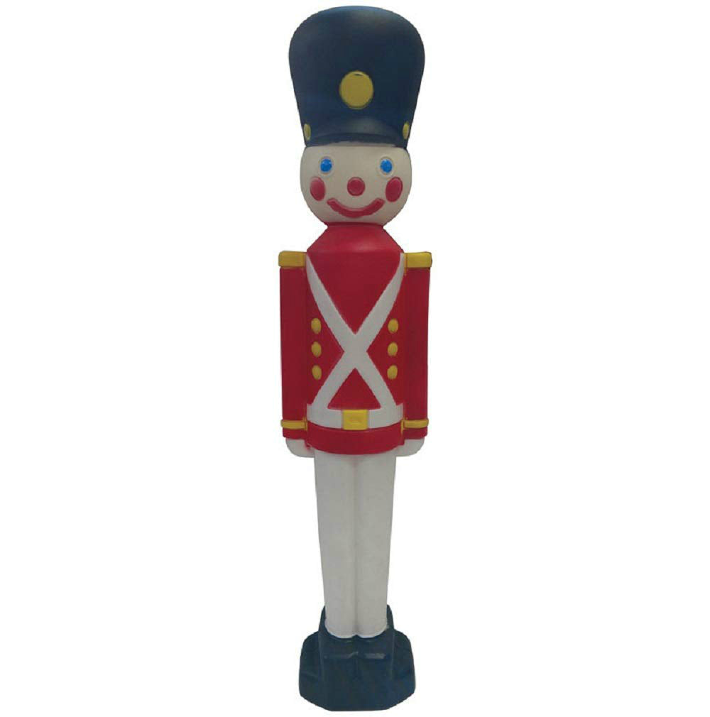 Union Products 76440 Blow Mold Christmas Decor Toy Soldier, 31""