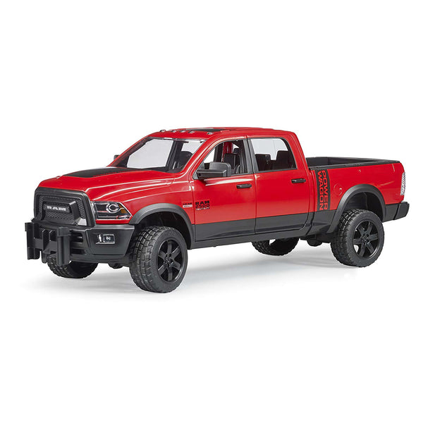 Bruder 02500 RAM 2500 Power Wagon Toy w/ Removable Drawbar Coupling, 1:16 Scale
