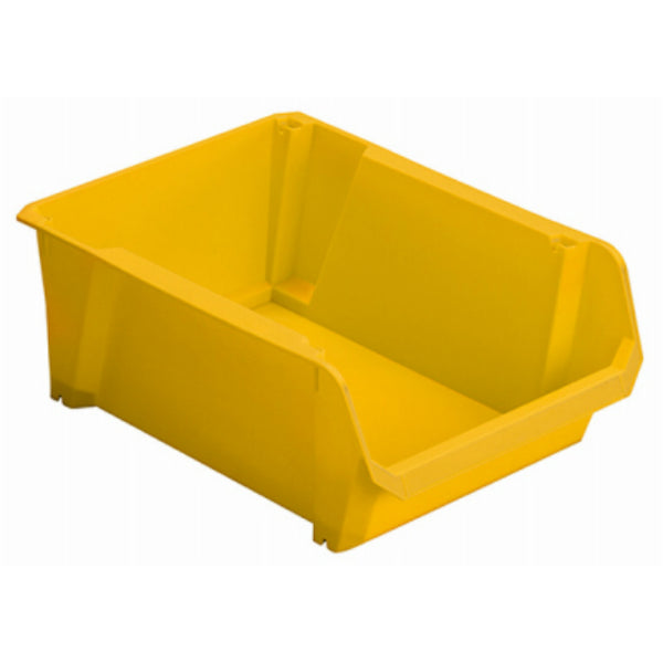 Stanley STST55400 Stackable Polypropylene Storage Bin, Yellow, #4