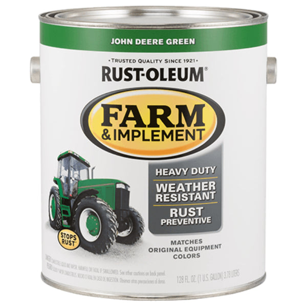 Rust-Oleum 280170 Specialty Farm & Implement Paint, JD Green, 1 Gallon