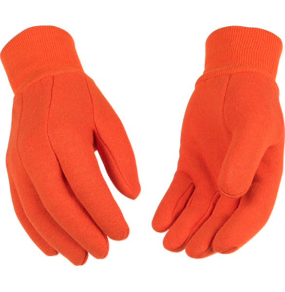 Kinco 826-L Bright Orange 9 Oz Sport Jersey Glove, Large