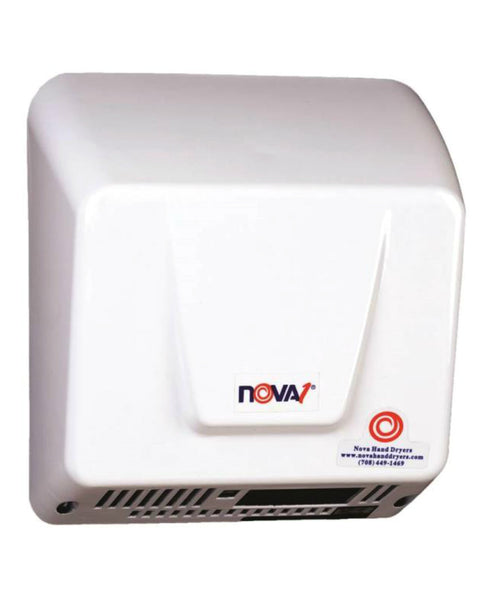 World Dryer Nova 083000000 Hand Dryer, White
