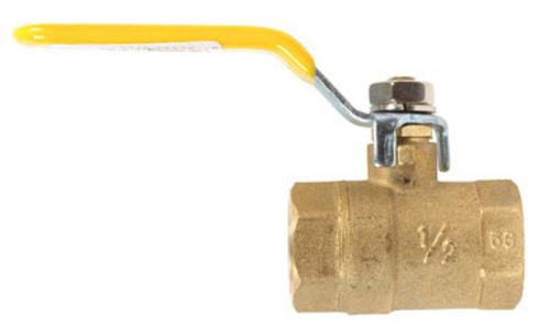 "Mueller 107-823NL Ball Valve, 1/2"" Ips"