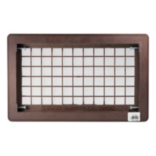 Witten 510BR Open Air Grill Foundation Vent, Brown