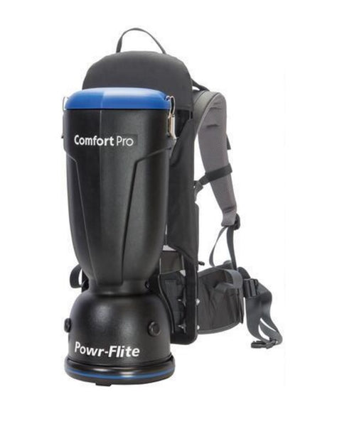 Powr-Flite BP6S Backpack Vacuum, 6 Quarts