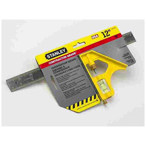 Stanley 46-123 Contractor Grade Combination Square 12""