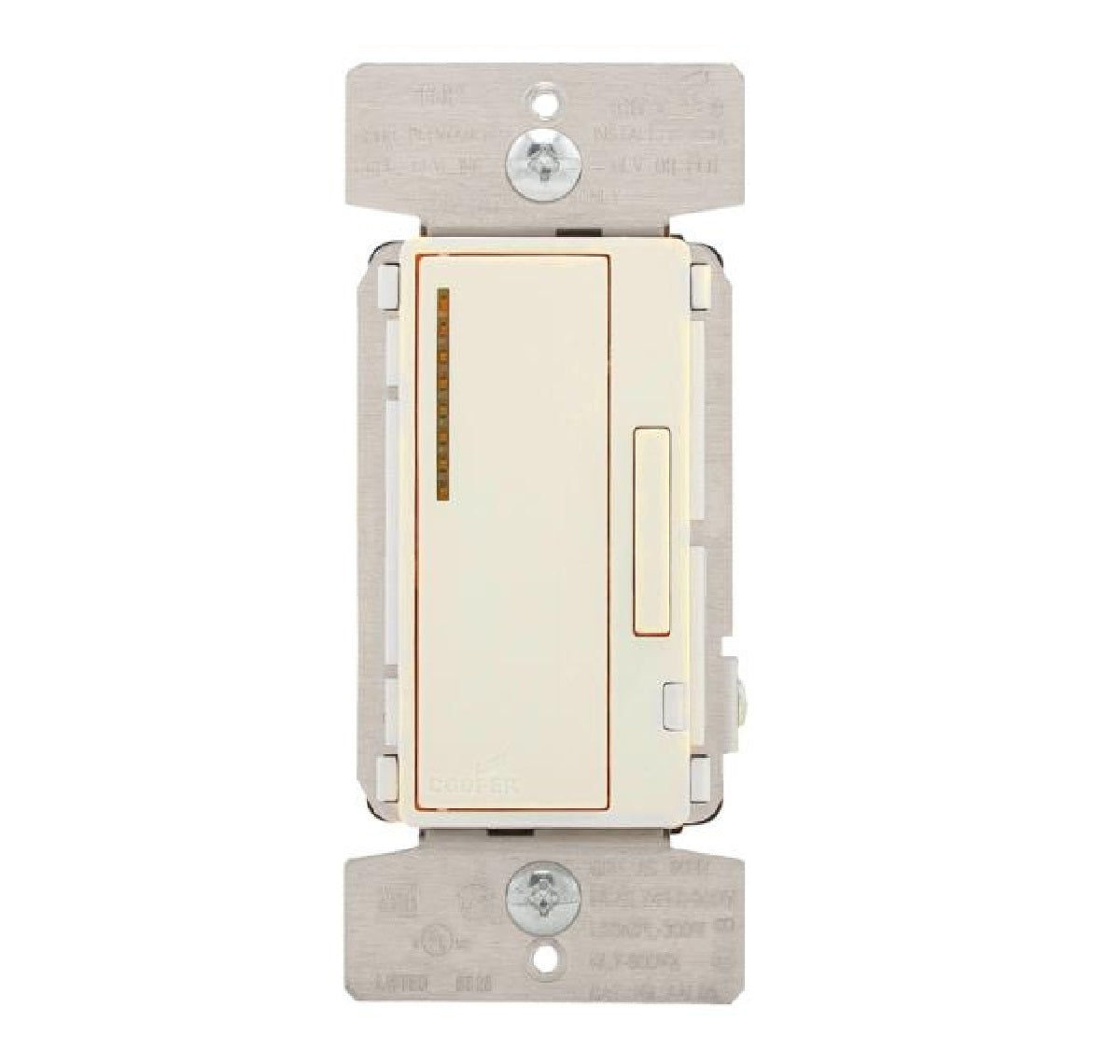 Cooper Wiring AAL06-C2-K AL Series Single Pole Sliding Dimmer