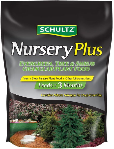 Schultz SPF48220 Nursery Plus Slow-Release Plant Food, 12-6-6, 3.5 lbs
