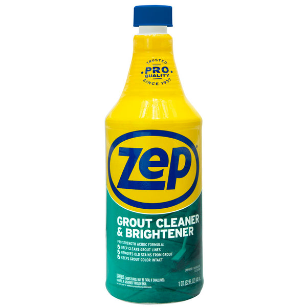 Zep Commercial ZU104632 Grout Cleaner & Whitener, 32 Oz