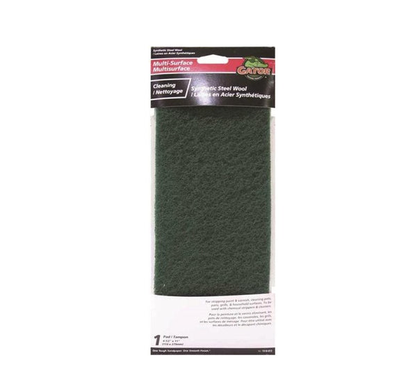 "Gator 7318-012 Multi-Surface Cleaning And Stripping Pad, 11"" L X 4-1/2"""