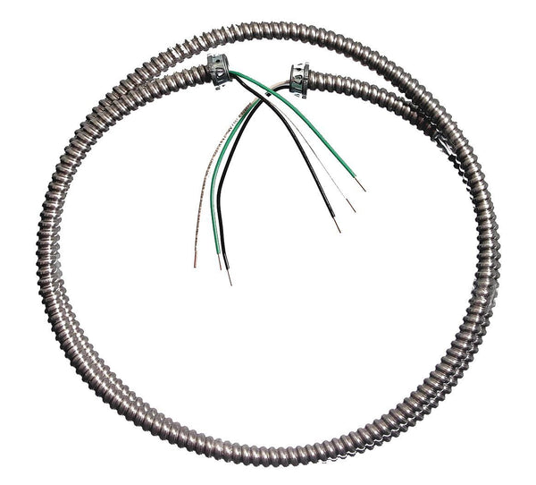 Southwire 55082415 Solid Lighting Flex Whip, 3/8