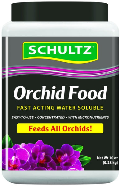 Schultz SPF70600 Orchid Food Fast Acting Water Soluble, 20-20-15, 10 Oz