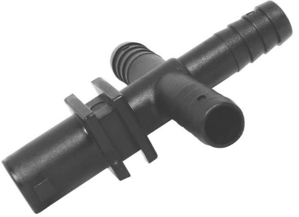 "Green Leaf  Y8231017 2PK Nozzle Cody Cross, 3/4"" Barb"