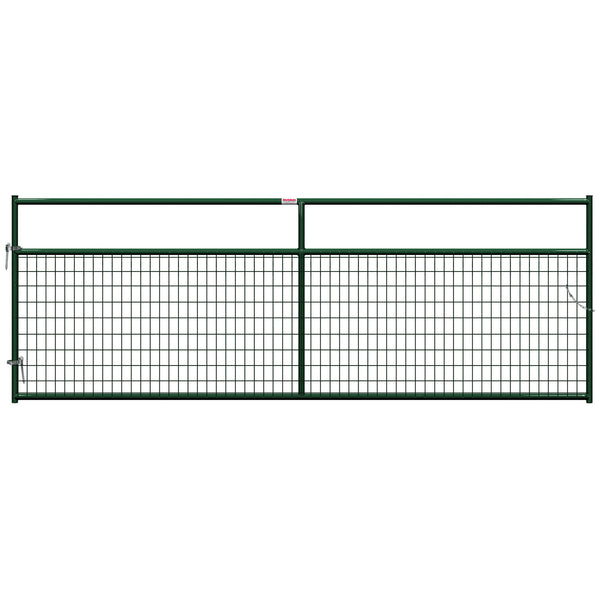 Behlen 40132122 Wire-Filled Gate, Green, 12'