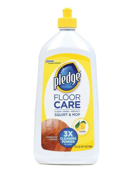Pledge 81316 Wood Floor Cleaner, Citrus, 27 Oz.