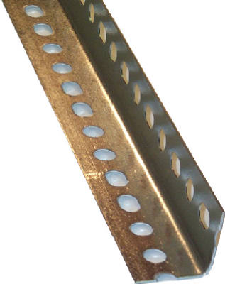 "SteelWorks 11109 Slotted Steel Angle, 1.5"" x 1.5"", 14 Gauge"