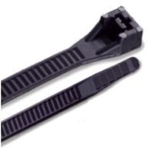 "Gb-Gardner Bender 46-448UVB Heavy Duty Cable Ties Black, 48"" , Bag Of 50"