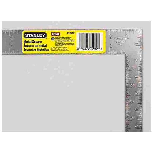 "Stanley 45-912 ""Jobmaster"" Carpenter Steel Square 12"""