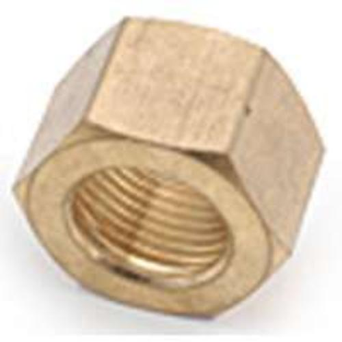 Anderson Metals 30761-03 Brass Compression Fitting Nut 3/16""