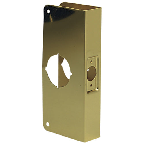Prime-Line U 9548 Door Reinforcer, Solid Brass, 2-1/8""