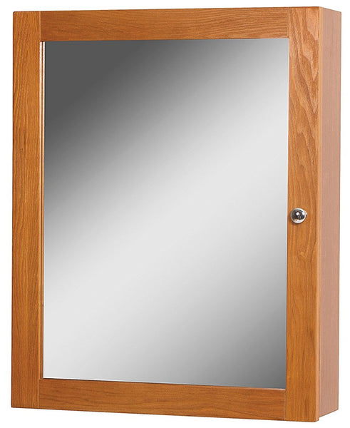 Foremost WROC1924 Worthington Bathroom Medicine Cabinet, Oak