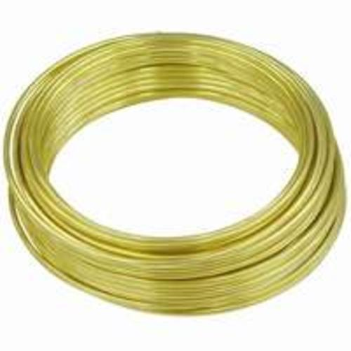 Hillman 50154  28-Gauge Wire 75', Brass Plated