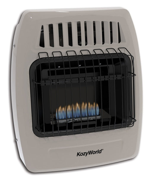 Kozy World KWN149 Ambient Flame Gas Heaters, 10,000 BTU