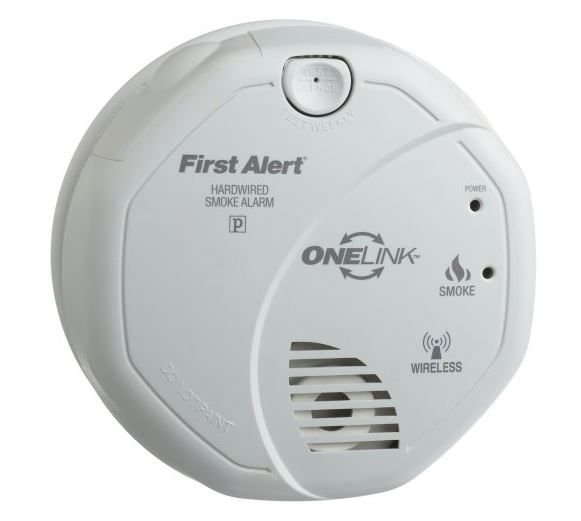 First Alert SA521CN-3ST Smoke Alarm Battery Operated 120 Volt