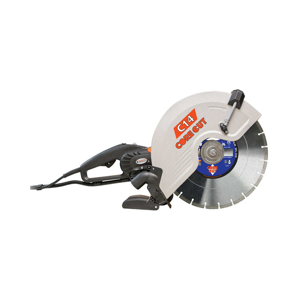 Diamond Products 48975 Electric Hand Held Saw, 15 AMP, 14""