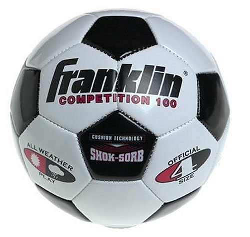 Franklin 6783 Competition 100 Soccer Ball, Size 4